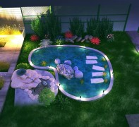 Landscaping and decorative lighting